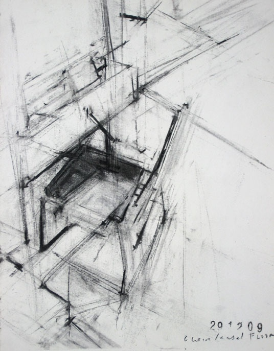 Drawn chair charcoal Images best Pinterest book Easel