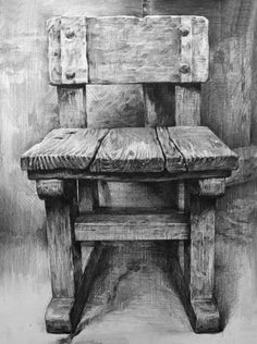 Drawn chair charcoal And show of  deviantart
