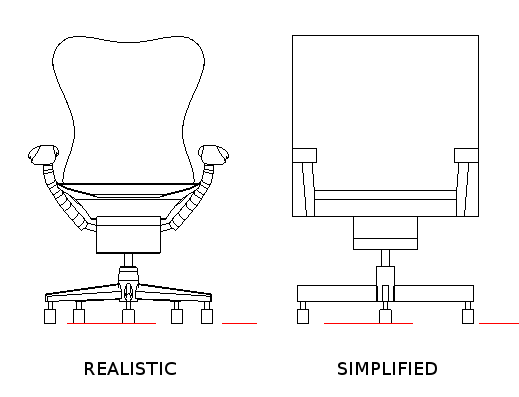 Drawn chair elevation Detail: practical there times computer