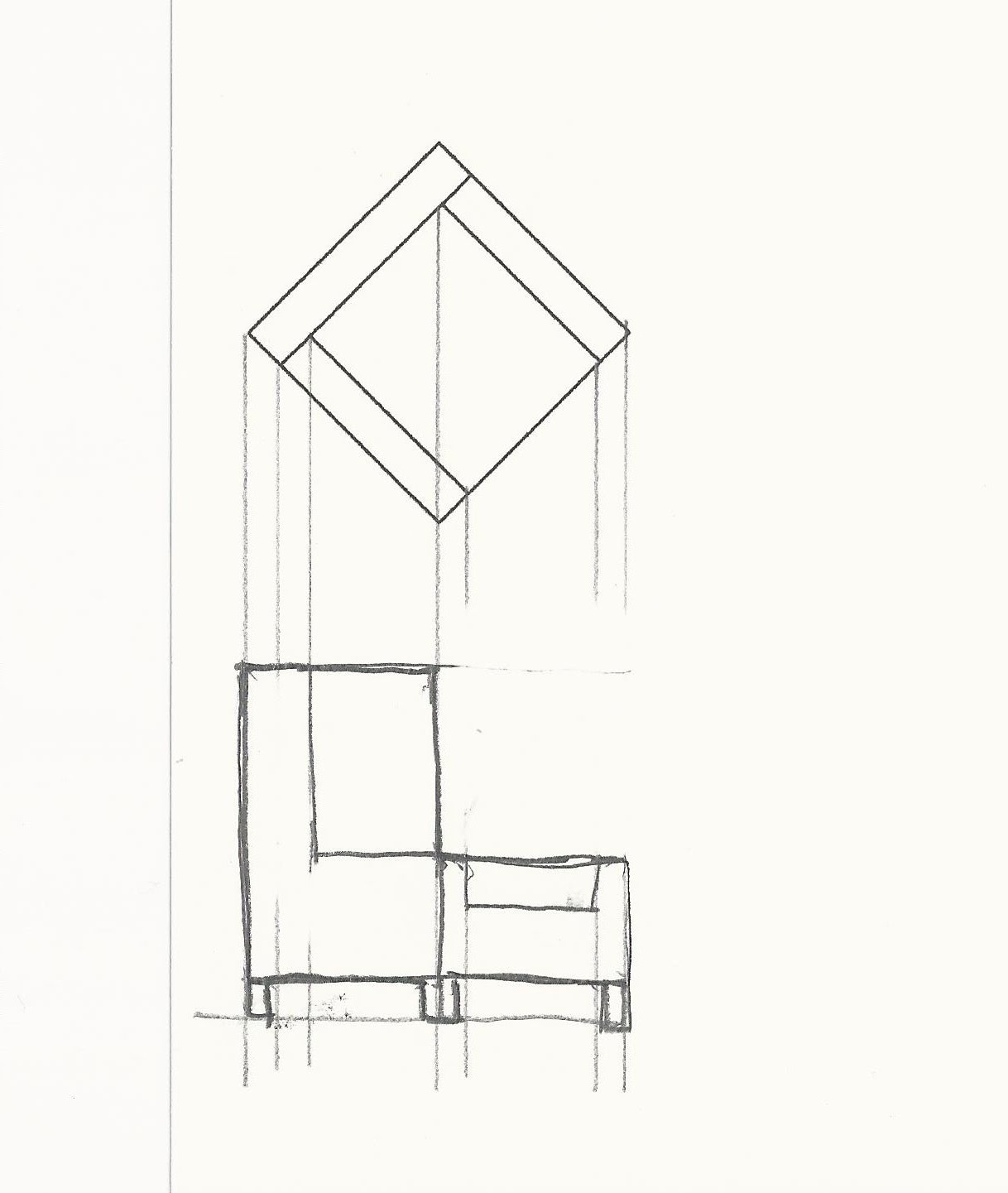 Drawn chair elevation An Furniture Magnificent of Drawing