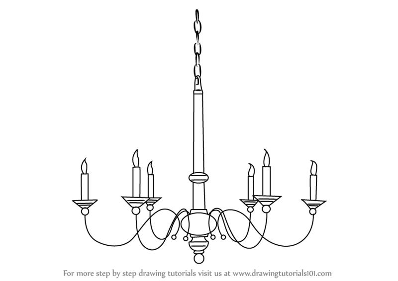 Drawn chandelier #10