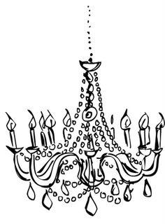 Drawn chandelier #1