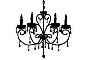 Drawn chandelier #2