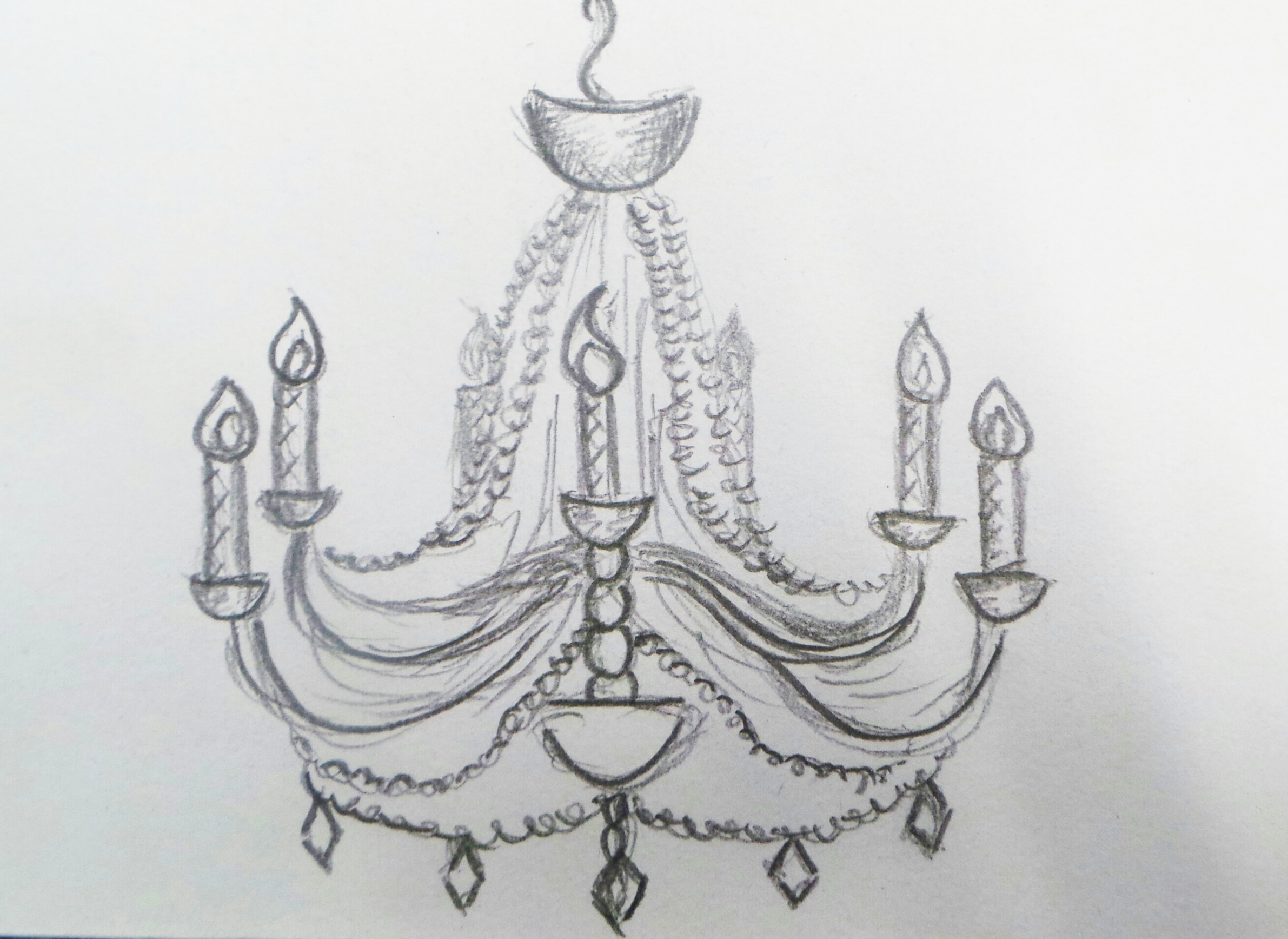 Drawn chandelier fancy chandelier Funky Room Your Chandelier Awesome