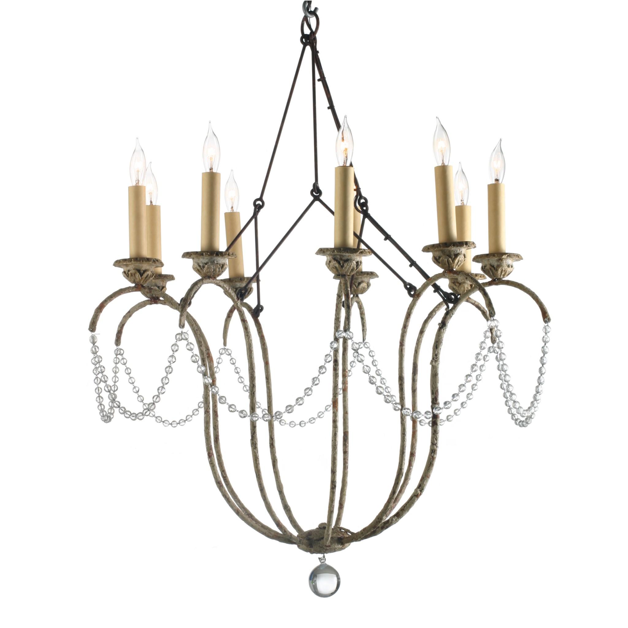 Drawn chandelier fancy chandelier Weeks Neimans Niermann Niermann Furniture
