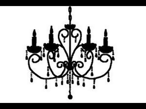 Drawn chandelier fancy chandelier How draw How a chandelier