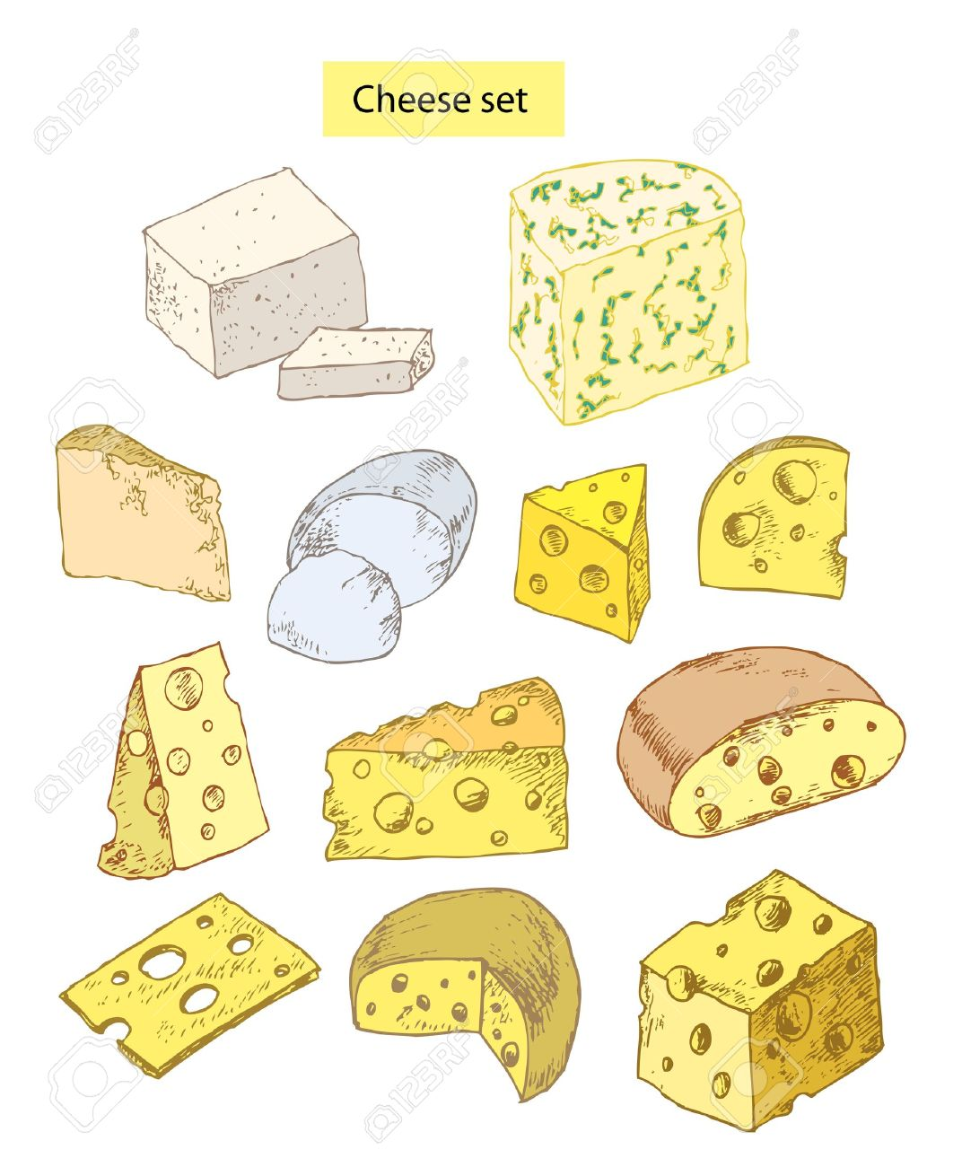 Drawn cheese #11
