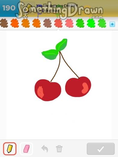 Drawn cherry Cherry by V com Something