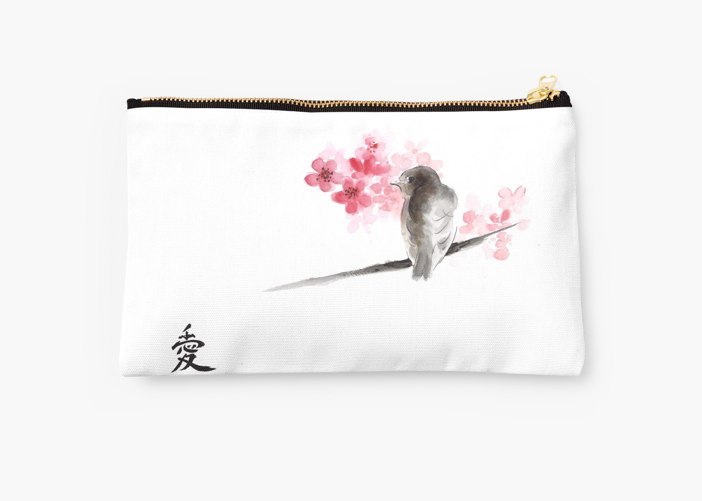 Drawn sparrow detailed Drawing flowers Sparrow japanese sumi
