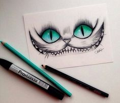 Drawn cheshire cat To want in wonderland