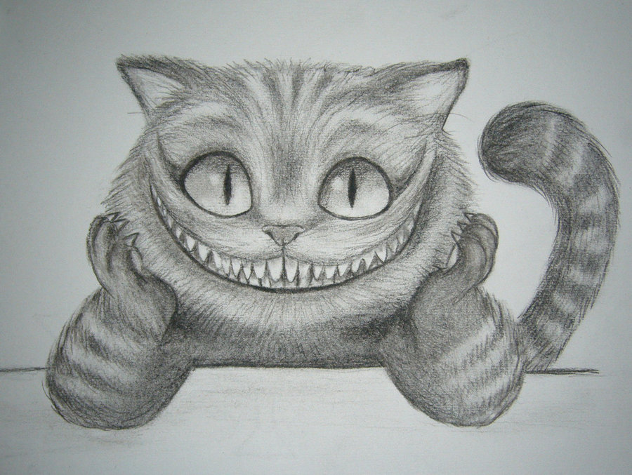 Drawn cheshire cat Oh Tim Burton's in is