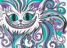 Drawn cheshire cat Cheshire app recently on on