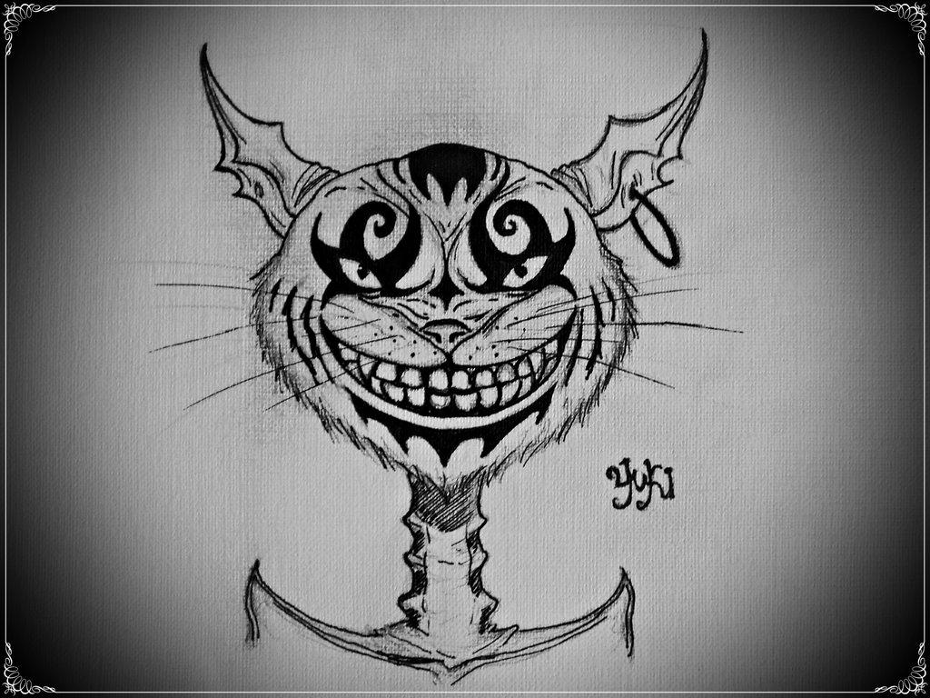 Drawn cheshire cat alice madness returns Yuki on Returns DeviantArt Alice