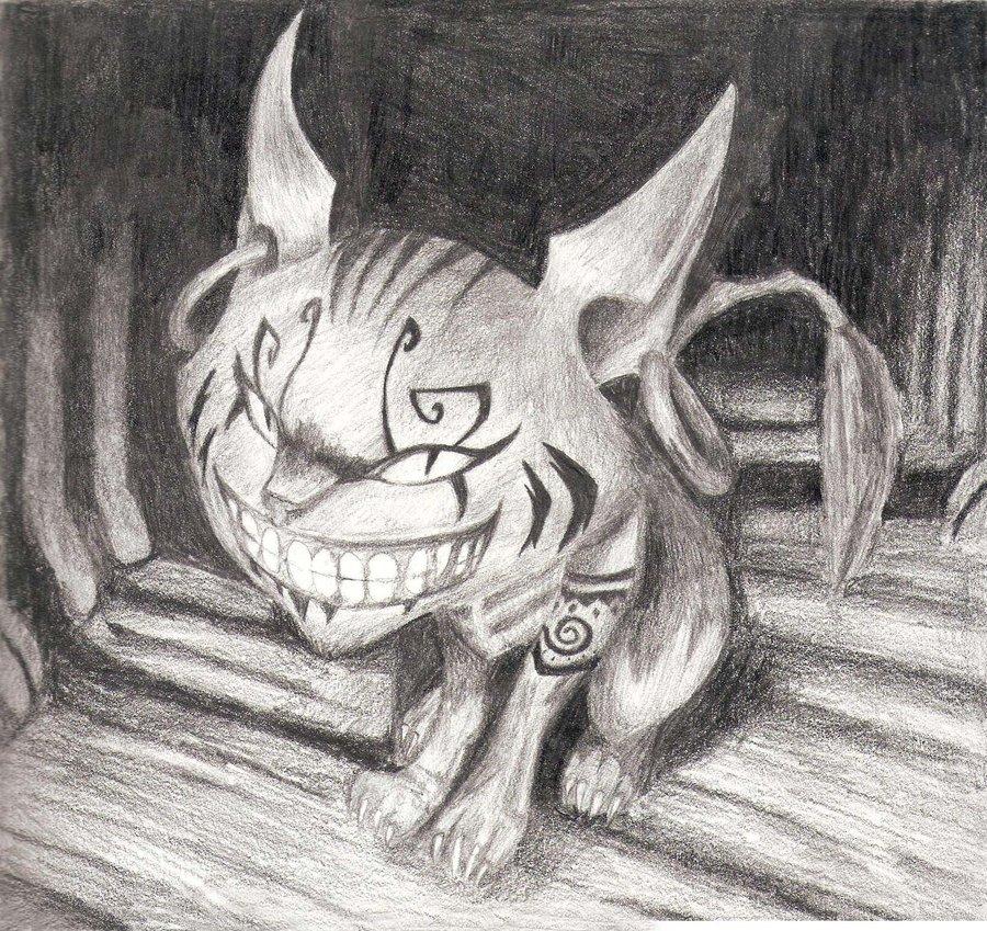 Drawn cheshire cat alice madness returns By Miwa Returns: on Nagano