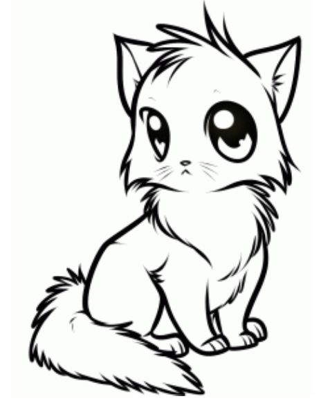 Drawn puppy cute anime kitty To how 25+ best Pinterest