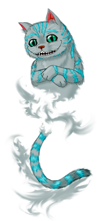 Drawn cheshire cat blue Request by DeviantArt by Cat