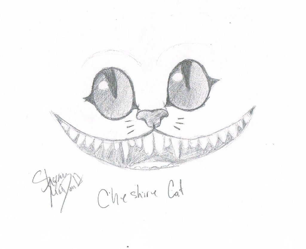Drawn cheshire cat blue  23 Blue girl by