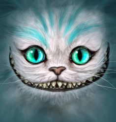 Drawn cheshire cat blue Cheshire drawing  Search cat