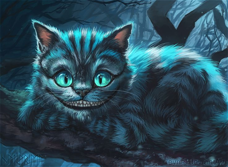Drawn cheshire cat blue Cheshire Cat animal Cheshire ref