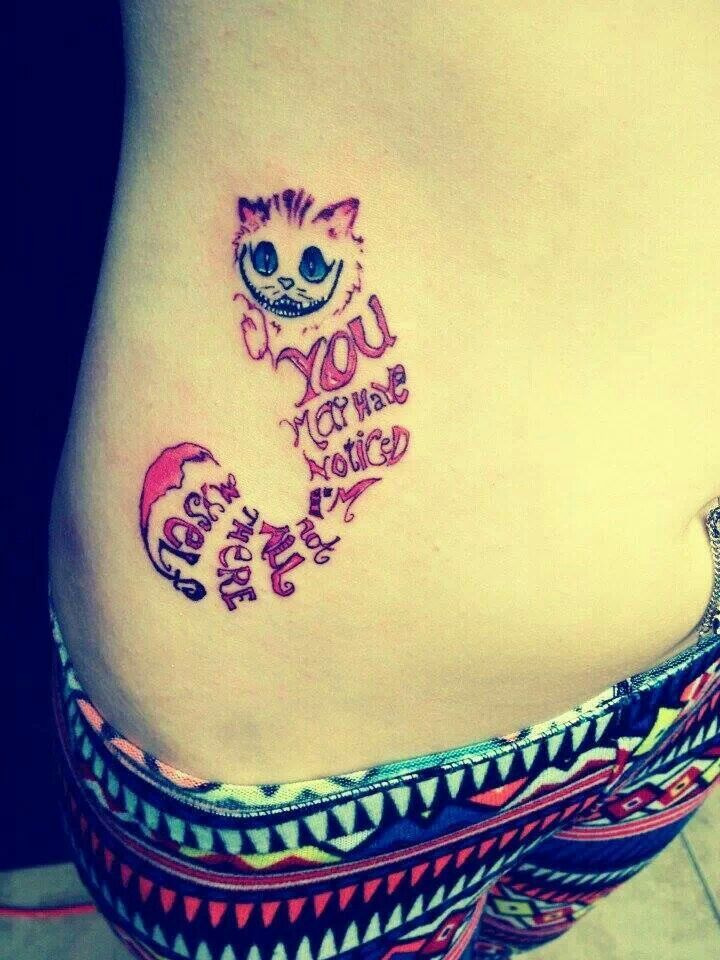 Drawn cheshire cat cashier Images Tatoo cat best Pinterest