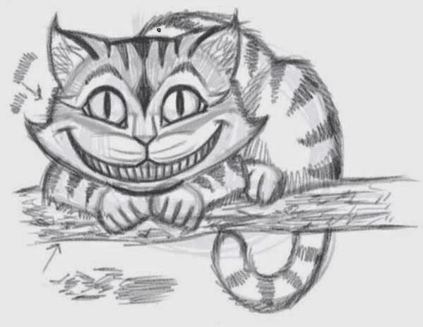Drawn cheshire cat creative Cheshire Cat How 8 Cheshire