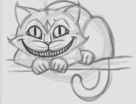 Drawn cheshire cat creative Cheshire Cat How 6 Cheshire