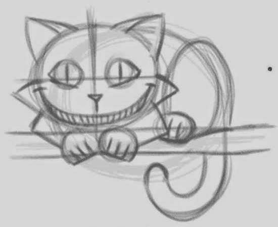Drawn cheshire cat creative Cheshire Cat How 4 Cheshire