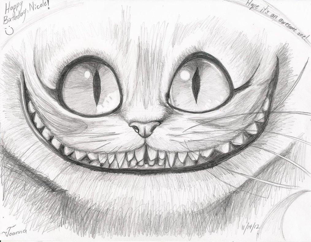 Drawn cheshire cat creative Pinterest cheshire drawing cat more!