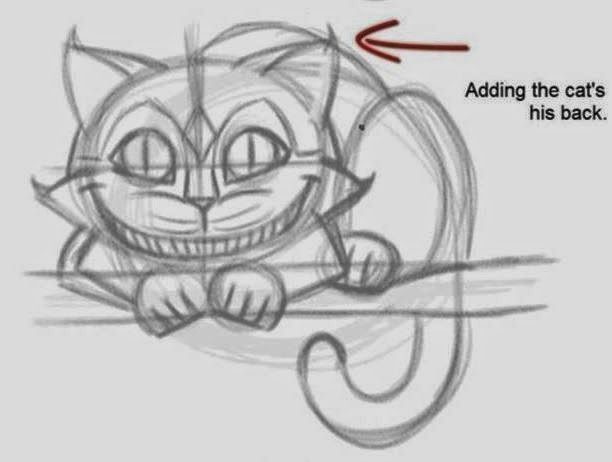 Drawn cheshire cat creative Cheshire Cat How 5 Cheshire