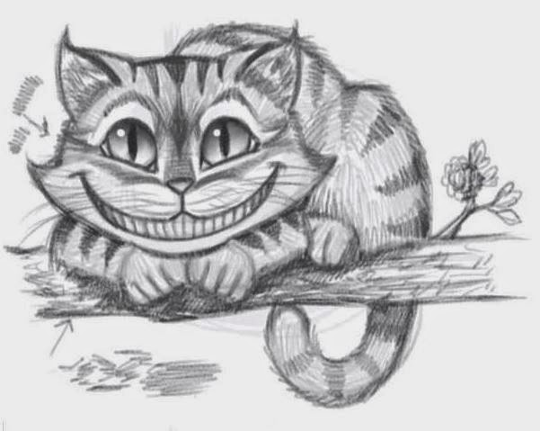 Drawn cheshire cat creative The How Draw to Cat?