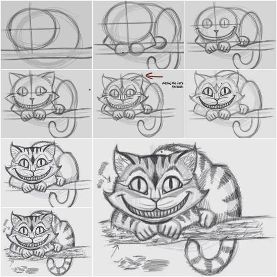 Drawn cheshire cat creative On Easily 25+ Best Cat