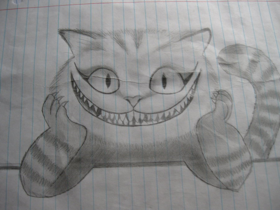 Drawn cheshire cat doodle By Cheshire DeviantArt by SoulJashin