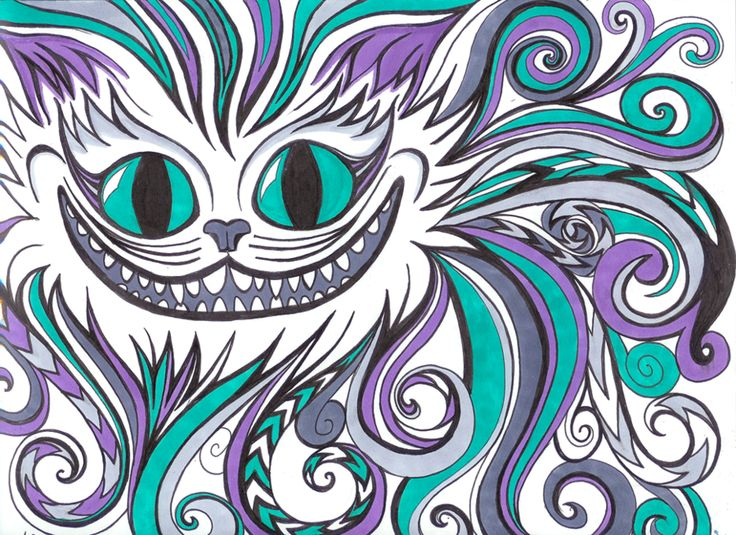 Drawn cheshire cat face On Cheshire about Cheshire more