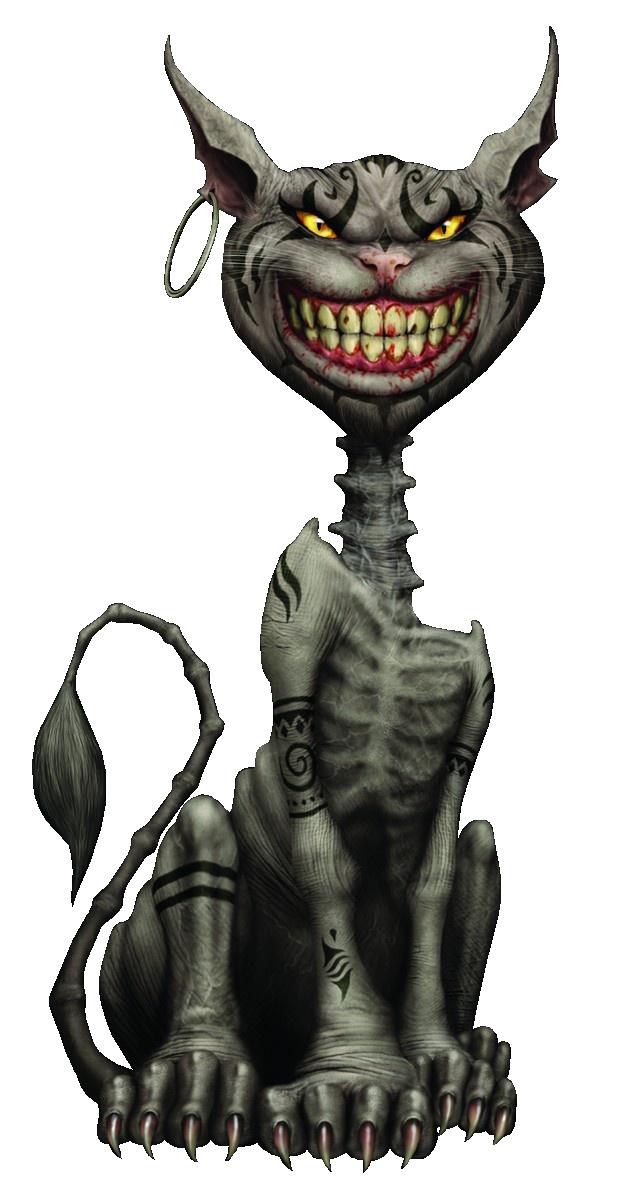 Drawn cheshire cat horror monster Cat Cat Cheshire Cat Cheshire