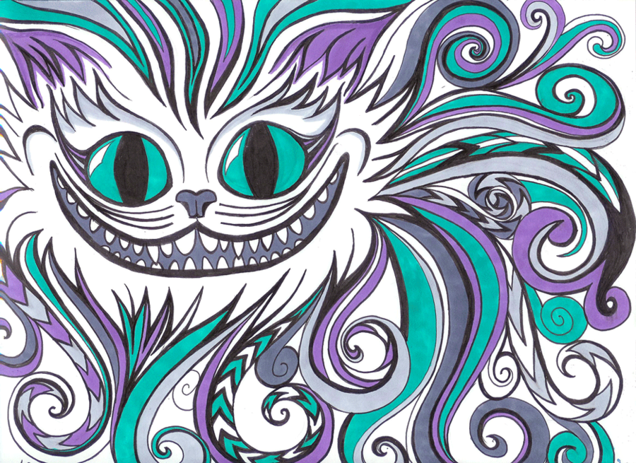 Drawn cheshire cat kawaii All on images NickyBarkla about
