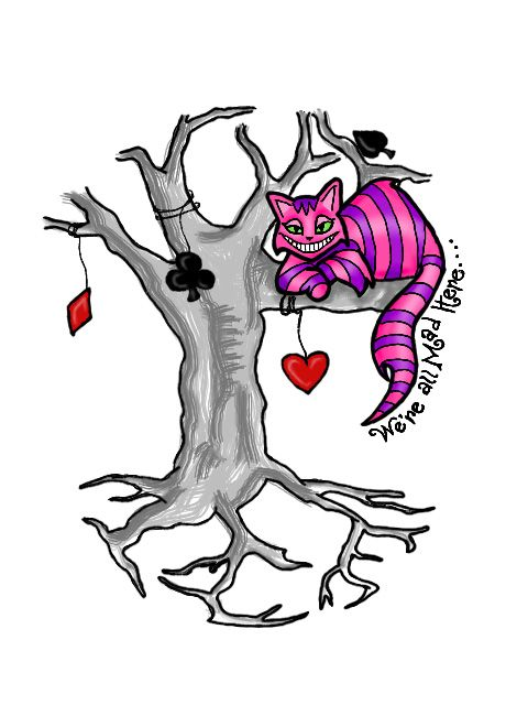 Drawn cheshire cat kawaii Cat @deviantART about on Cheshire