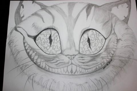 Drawn cheshire cat kitten Cheshire in Alice kitten