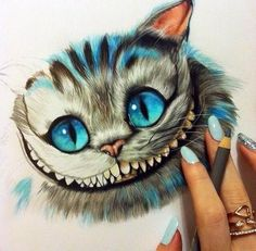 Drawn cheshire cat kitten Cat Cheshire and cats Find