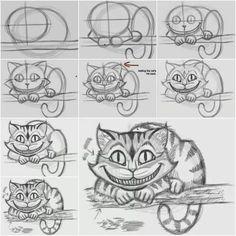 Drawn cheshire cat kitten Rach98 Cheshire the Easily How