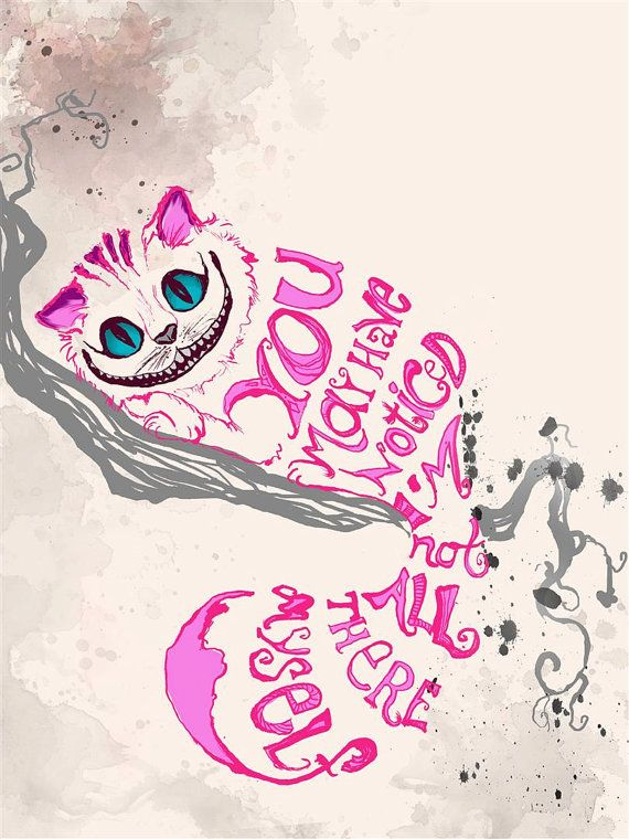 Cheshire Cat clipart cute #13