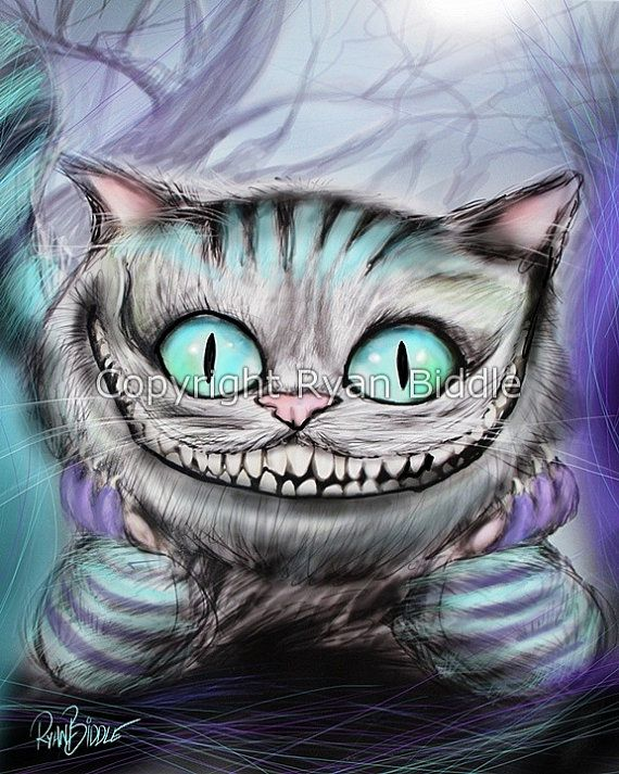 Drawn cheshire cat mad hatter Cheshire Cat We're Drawing from