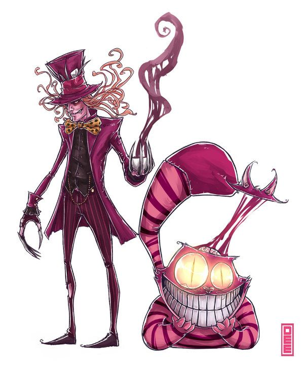 Drawn demon head On cat Best cheshire 25+