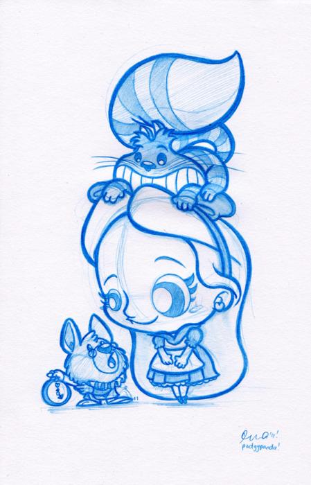 Drawn cheshire cat rabbit Søgning Tegninger cat  alice