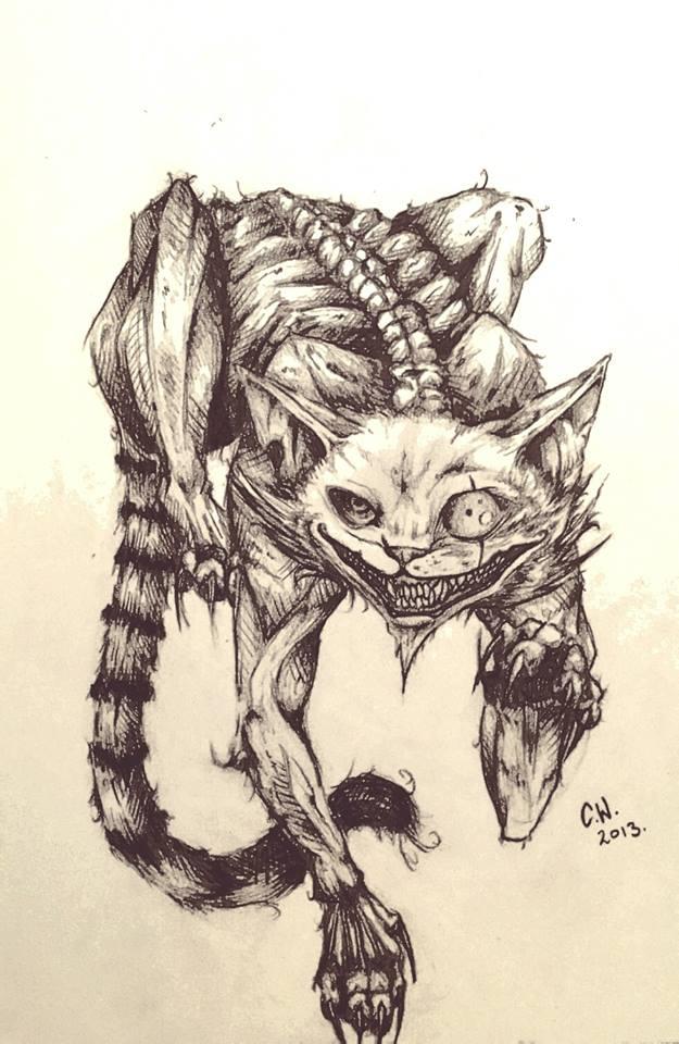 Drawn cheshire cat realistic Cheshire Itachi by Cheshire Returns