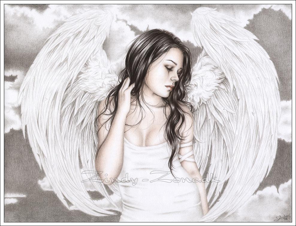 Drawn sad gothic Lover girl cry Best Sad