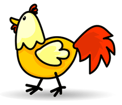 Drawn chicken And to Draw Cartoon How