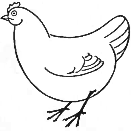Drawn chicken & How with Draw to