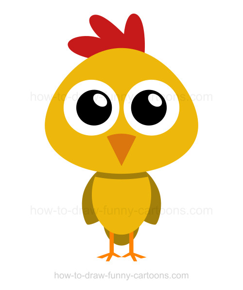 Drawn chicken To to a How draw