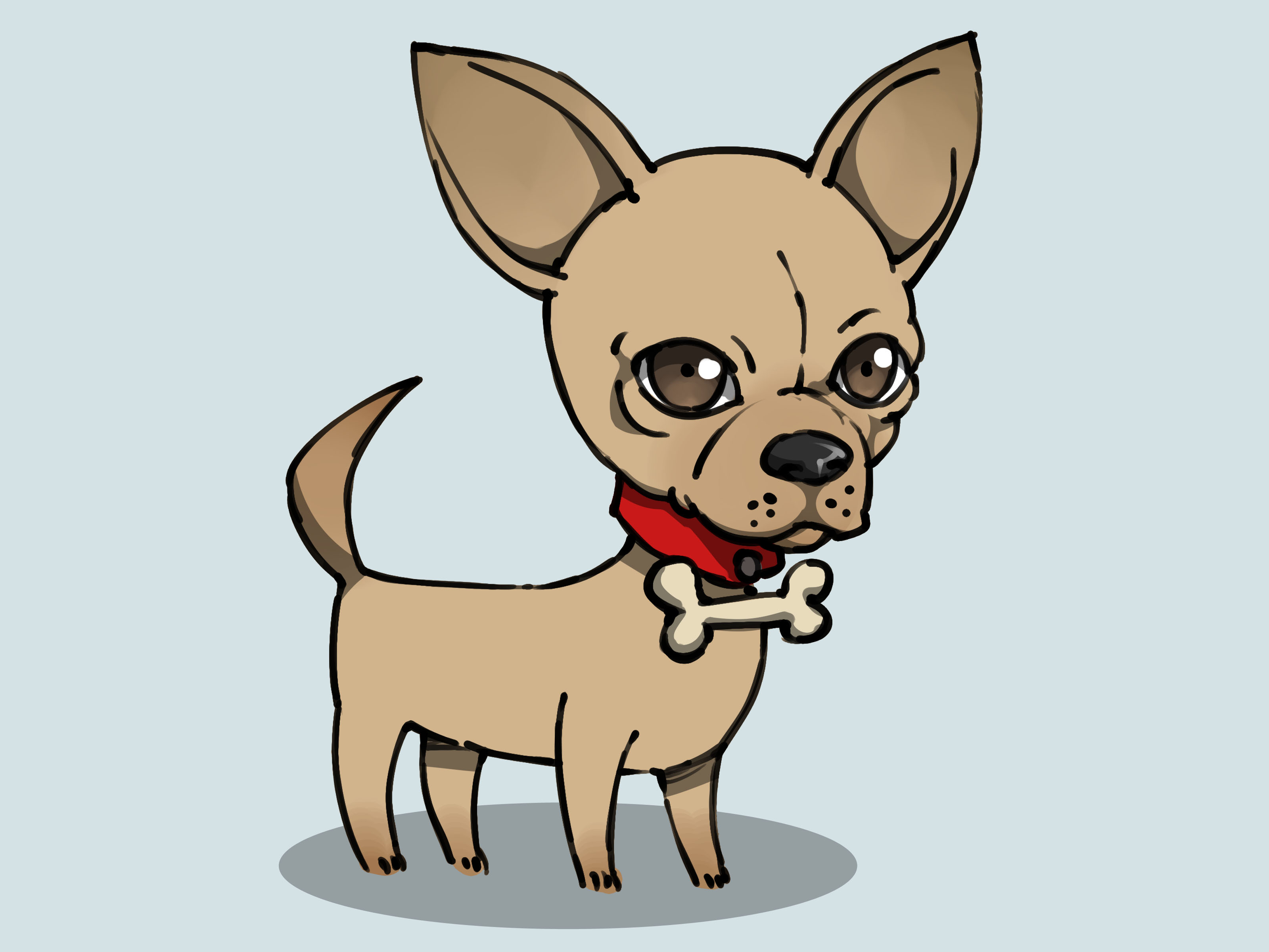 Drawn chihuahua How (with Pictures) wikiHow Draw