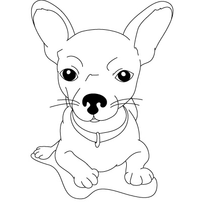 Drawn chihuahua Kids Chihuahua Fun to &